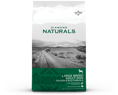 Diamond Naturals Large Breed product bag front