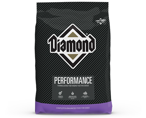 Diamond Performance product bag front