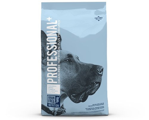 Professional Plus Large Breed product bag image