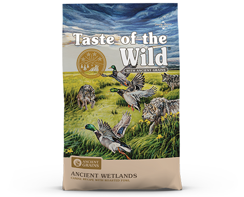Taste of the Wild Ancient Grains Wetlands product bag image