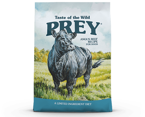 Taste of the Wild PREY Angus product bag image